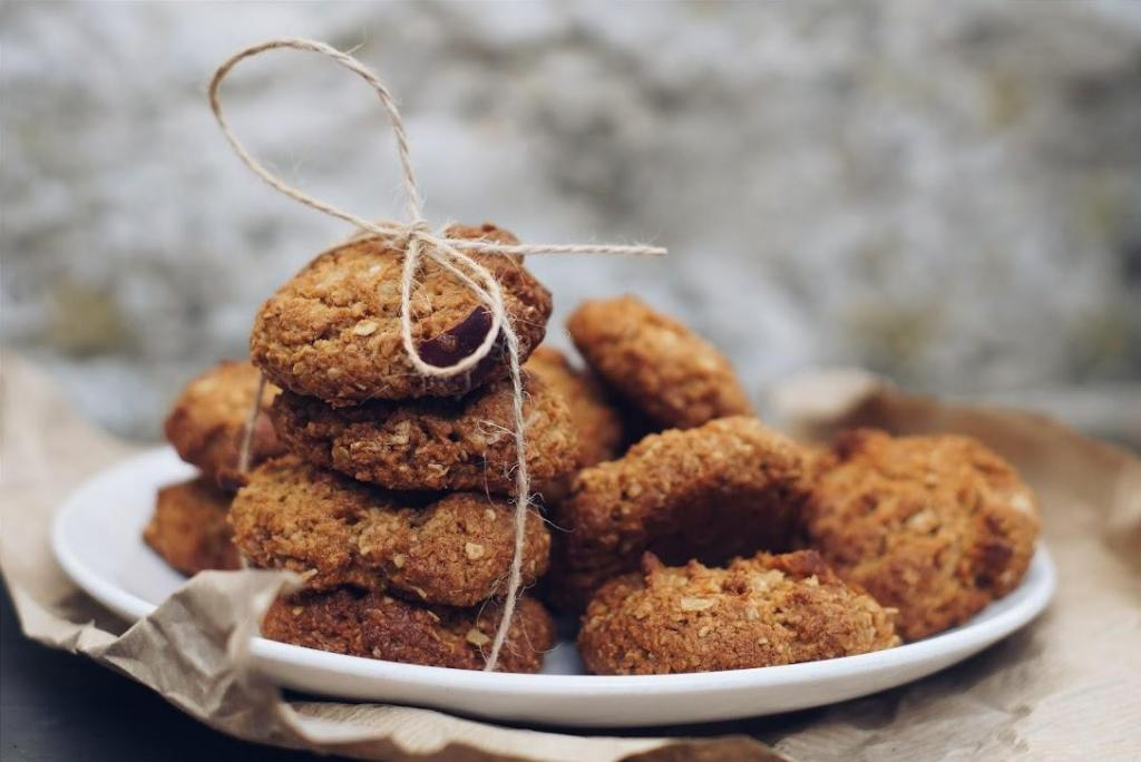 Amy's apple & fig cookies